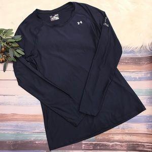 Under Armour SmartPak Heat Gear Navy Blue Shirt